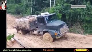 Những tài xế siêu đẳng, những chiếc xe tải trâu bò
