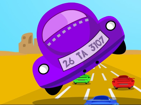 Car Race | Racing Cars games for Kids | Video for Children