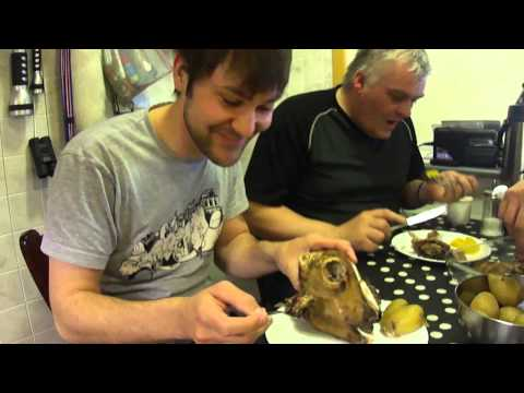 Traditional Icelandic food - sheep head