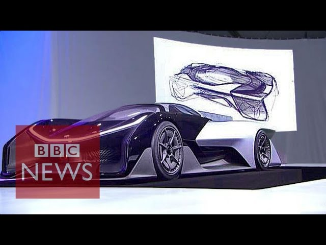 CES 2016: Faraday Future reveals futuristic car - BBC News
