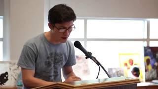 Poetry & Prose: Corey Kendrick – Creative Writing (April 27, 2016)