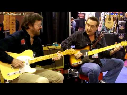 Jerry Donahue&Steve Trovato Meet @ LsL Instruments NAMM