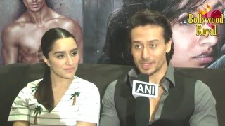 Exclusive Interview Of Tiger Shroff & Shraddha Kapoor For