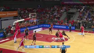 Highlights Lokomotiv Kuban vs Valencia Basket 7DAYS EuroCup 09.11.2016