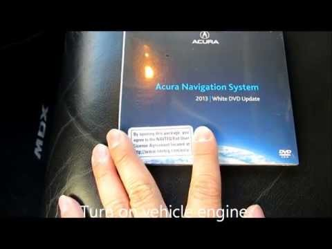 How to upgrade the Navigation DVD on Acura and Honda vehicles