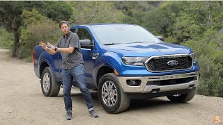 2019 Ford Ranger XLT SuperCab Test Drive Video Review