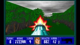 Wolfenstein 3D The Lost Missions EP3: Revenge of the Mutants Floor 8 (Boss Floor)