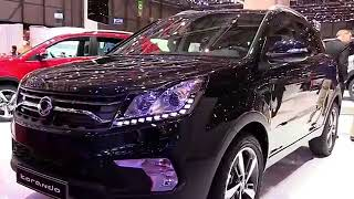 2019 Ssang Yong Korando Diesel Premium Features   New Design Exterior and Interior  HD