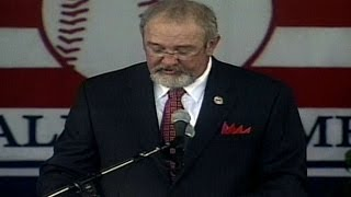 Bruce Sutter is accepted into the Hall of Fame