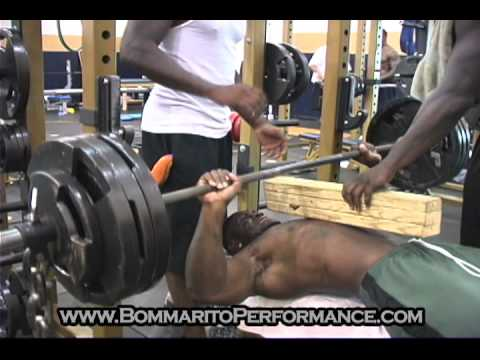 Watch how freak pro athlete's train at Bommarito Performance Systems. BommaritoPerformance.com.
