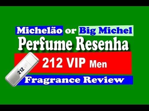 Perfume Noite 212 VIP Men Carolina Herrera Fragrance Review - with subtitles