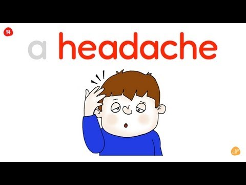 Health Vocabulary - from ELF Learning