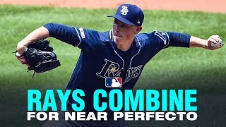 The Rays' pitchers flirt with perfection thwarted by Aleberto!
