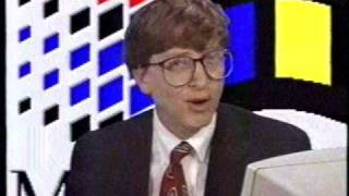 Hello, I'm Bill Gates, Chairman of Microsoft