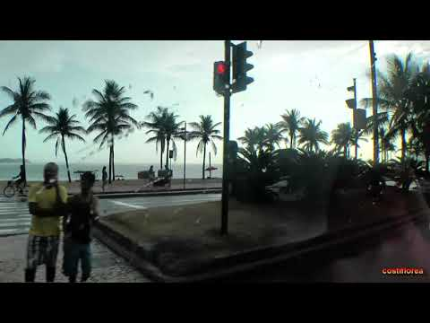 Brazil - Rio de Janeiro,Bus tour - South America Part 2 - Travel video - HD