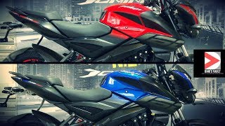 Pulsar 160 NS Red, Blue Walkaround Review, Pros and Cons, Exhaust note