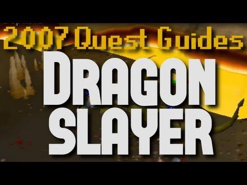 Runescape 2007 Quest Guides: Dragon Slayer