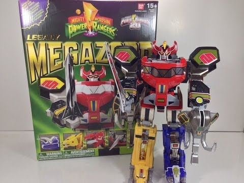 Review: Legacy Megazord (Mighty Morphin' Power Rangers)