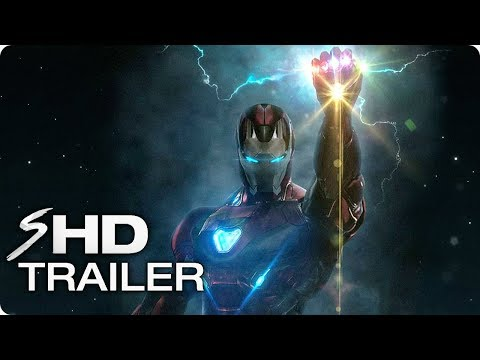 """AVENGERS 4 (2019) """"The End Game"""" – MCU Tribute Trailer"""