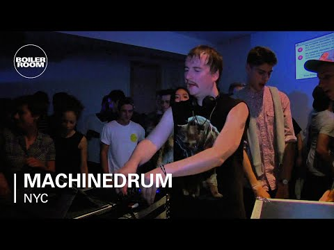 Machinedrum - Live @ Boiler Room NY, 2013