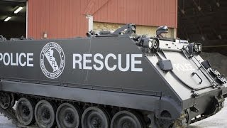 Obama bans some military equipment from local police
