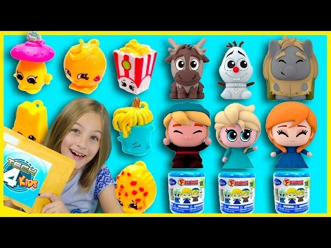 FROZEN FASHEMS and SHOPKINS MICRO LITES + SURPRISE PACKAGE FROM TECH 4 KIDS FASH'EMS | PLP TV