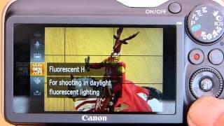 "03. Understanding Canon Powershot HS Compact Digital Cameras: part 2 ""P mode"""