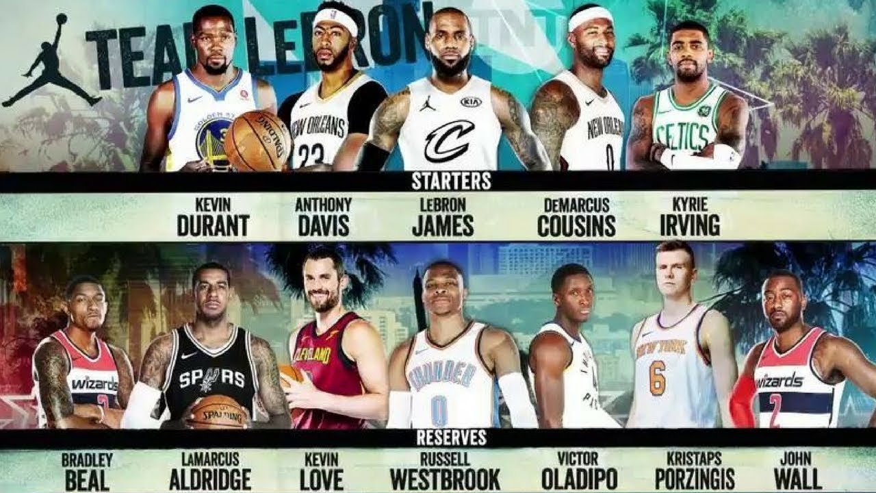 LeBron James nommé MVP du AllStar Game 2018  la Team