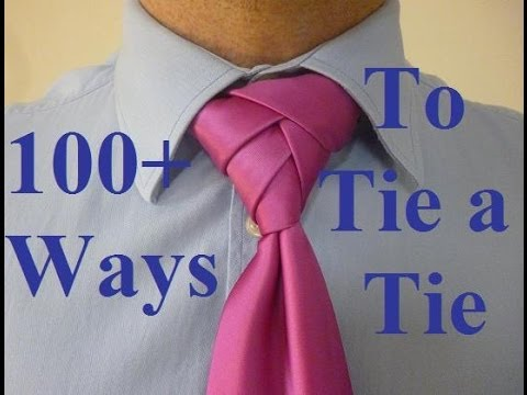 How to Tie a Tie Fancy Braided Knot
