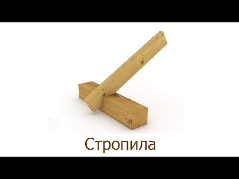 Стропила