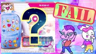 *HONEST* Pin Design Craft Kit by Fashion Angels- Kid Friendly Craft Reviews & Tutorials! [BvL 2019]
