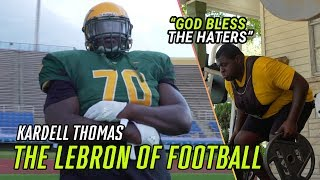 The LEBRON Of High School Football. Kardell Thomas Escaped Violence To Become A Louisiana LEGEND ?
