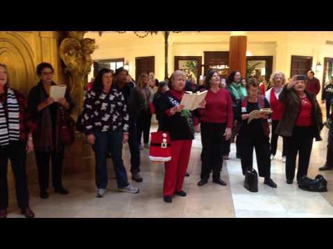 Yorba Linda Handels Messiah Flash mob Crystal court South Coast Plaza Hallelujah