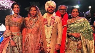 Sridevi's last visuals at Mohit Marwah's wedding