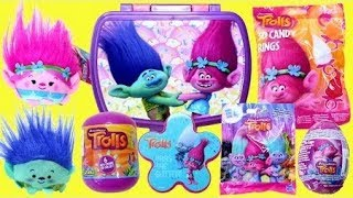 Trolls Surprise Lunchbox: Trolls Surprise Eggs Blind Bags Toy Surprise Opening for Kids