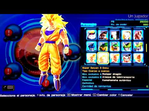 Dragon Ball Z: Battle of Z | PS VITA | Todos los personajes | Todas las misiones |