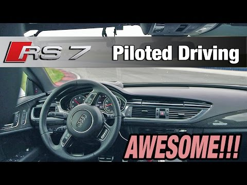 ► Audi RS 7 Piloted Driving: AWESOME!!!