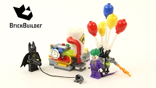 Lego Batman 70900 The Joker Balloon Escape - Lego Speed Build