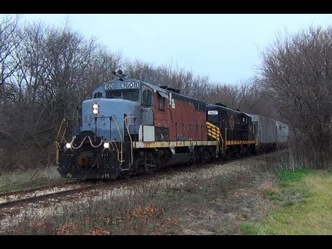 Railfanning the Decatur Junction Railroad!! Sweet Leslie RS3L Horn!