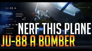 The JU-88 A bomber is INSANE! 40-0 on Fjell 652 - Battlefield 5 plane gameplay