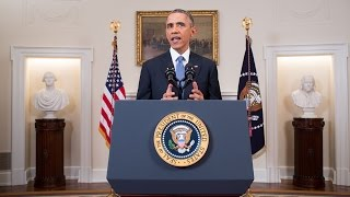 President Obama Delivers a Statement on Cuba