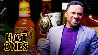Mike Epps Gets Crushed by Spicy Wings   Hot Ones