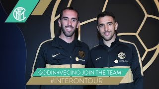 GODIN+VECINO JOIN THE TEAM! | INTER IN NANJING | #INTERONTOUR