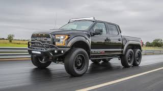 Hennessey VelociRaptor 6x6 Ford F-150 First Look Debuts at SEMA 2017