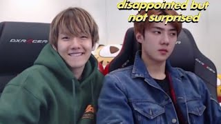 the last live stream & what Baekhyun ACTUALLY wanted from Sehun all this time