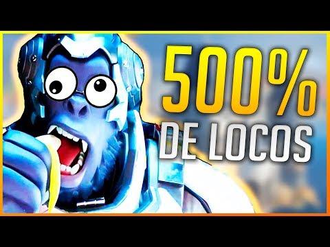 OVERWATCH: 500% DE LOCOS EN DEATHMATCH | Makina