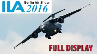 ILA Berlin Air Show 2016│Antonov An-178│Full Display
