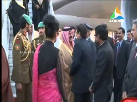 Bahrain king india, dubai , 20.02.2014, Jaihind TV, Morning News