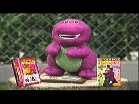 Barney Videos Promo (new) Uk Vhs video