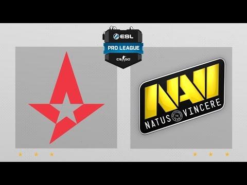 CS:GO - Astralis Vs. Penta [Cache] Map 1 - ESL Pro League Season 4 - EU Matchday 17